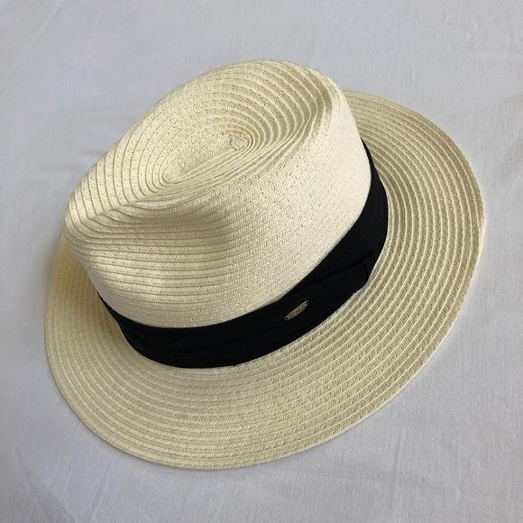 cc5f5db4 Scala Accessories | Mens Safari Hat Toyo Straw Hat Medium | Poshmark